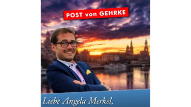 Liebe Angela Merkel