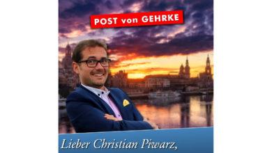 Lieber Christian Piwarz