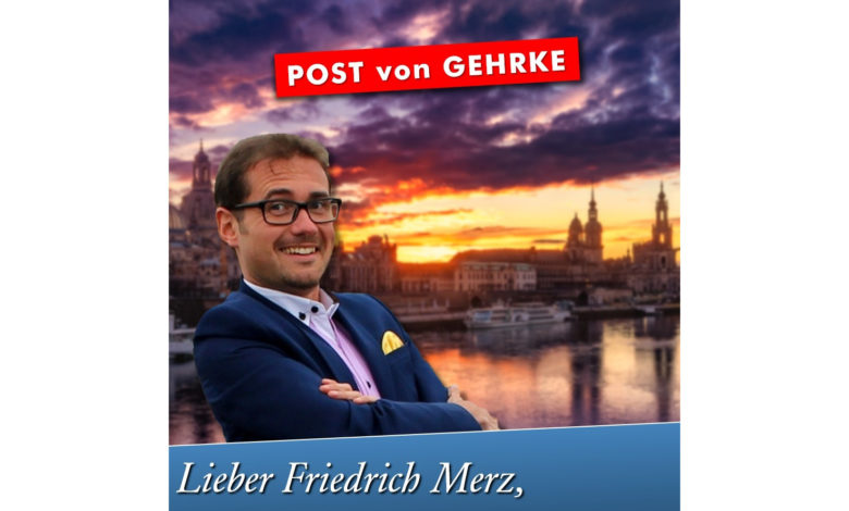 Lieber Friedrich Merz