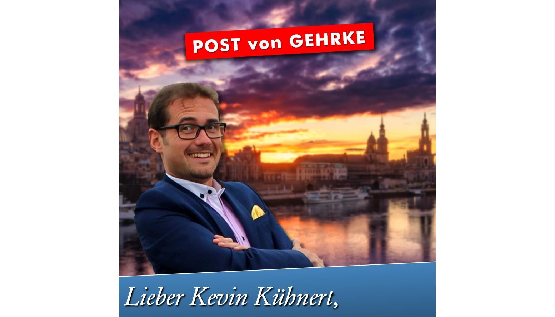 Lieber Kevin Kühnert