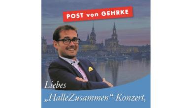 """Liebes """"HalleZusammen""""-Konzert"""